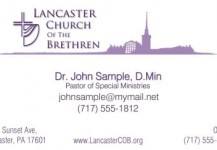 Church Stationery (Logo)